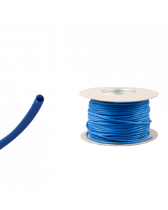 Blue Neutral PVC Wire Sleeving Electrical Cable 3mm 100m
