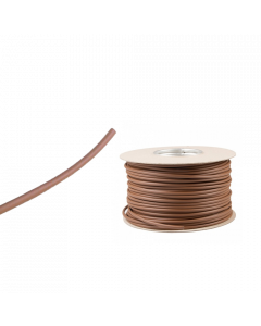 Brown Neutral PVC Wire Sleeving Electrical Cable 4mm 100m
