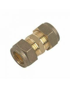 15mm Coupling Compression Pipe Fitting