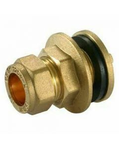 15mm Tank Connector Compression Pipe Fitting