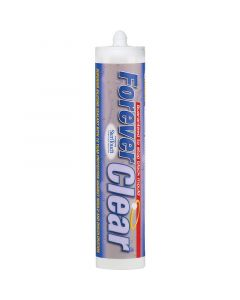 EverBuild Forever Clear Silicone Sealant 295ml