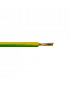 Single Core Earth Cable Yellow & Green 6mm